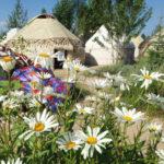 Kirgistan – Religion und Kleidung bei Frauen.