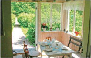 Aneby Schweden Ferienhaus am See, Küche