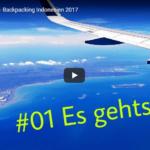 Backpacking Indonesien 2017